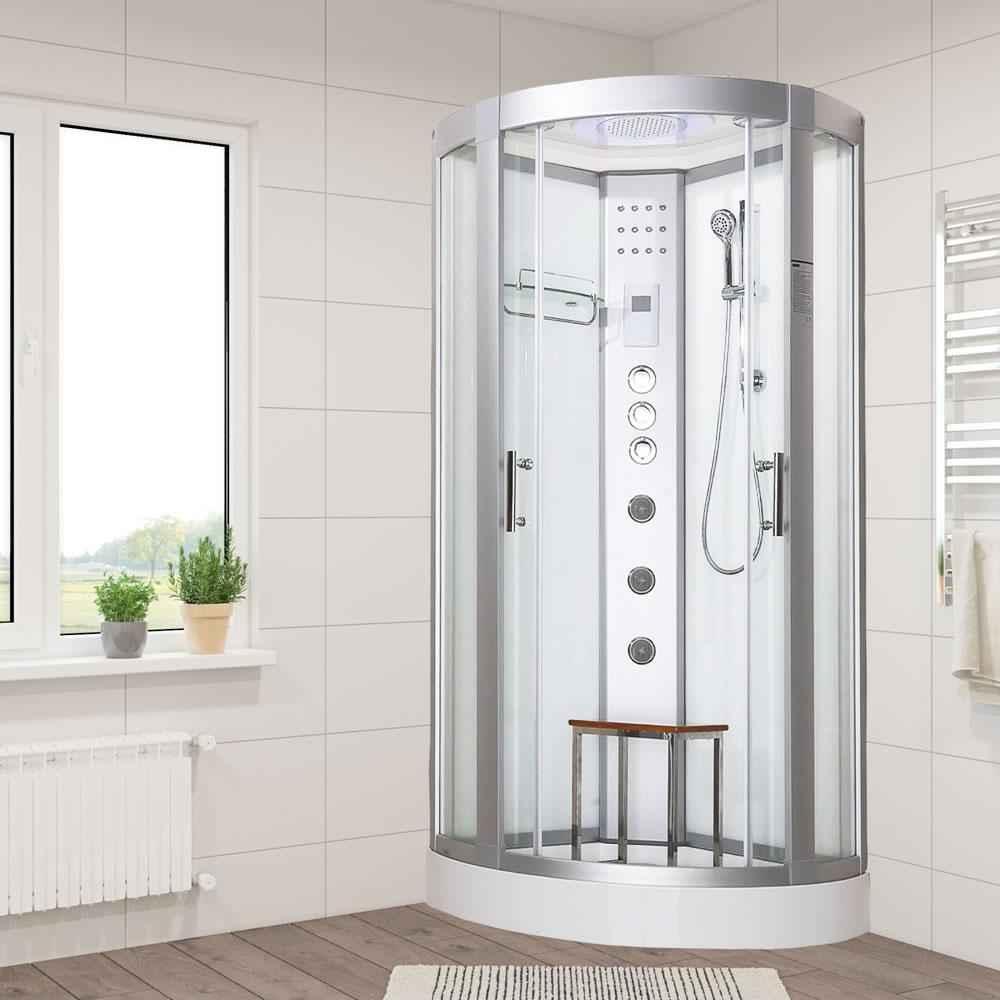 Vidalux Hydro plus 800 Hydro Massage Shower 800 x 800 x 2200mm