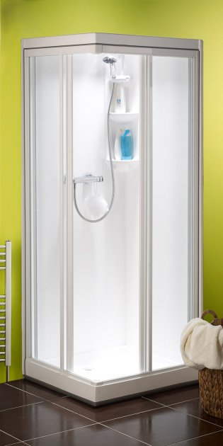Kubex Kingston Corner Entry One Piece Shower Pob Cubicle For Sale