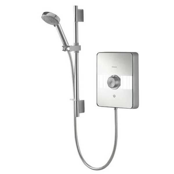 Aqualisa Lumi Electric 10.5KW Shower in Chrome with Adjustable Head
