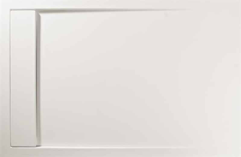 Roman Infinity Shower Tray 1400mm x 900mm - Matt & White
