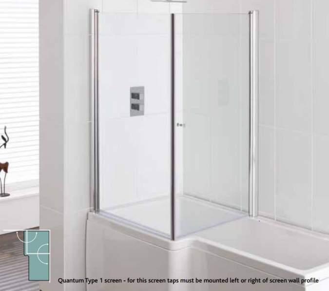 buy carron quantum square shower bath 1500 x 700 850mm carron quantum single ended bath uk bathrooms