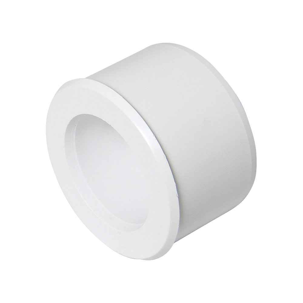 FloPlast ABS Solvent Fit Reducer 40mm to 32mm - White - Waste Pipe