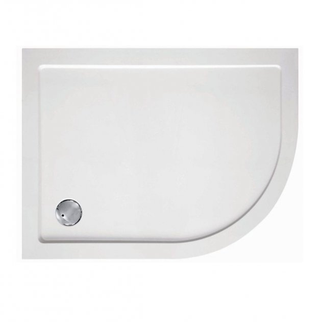 Zamori Offset Quadrant - 1200  x 800 - Right Hand Shower Tray - Z1202