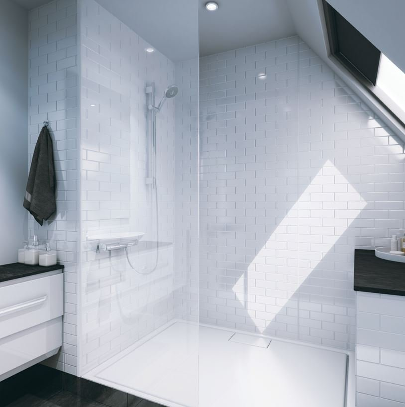 Tile Wall By Multipanel | Tile Effect Bathroom Wall Boards