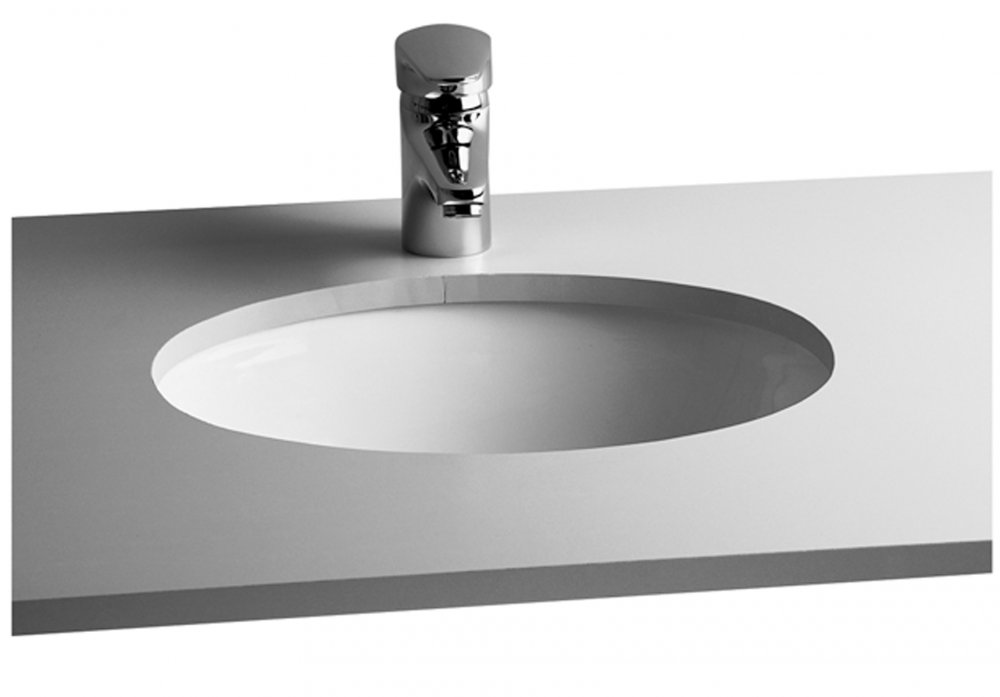 VitrA S20 Under-Counter Basin Oval 63 x 51cm