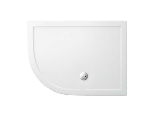 Zamori Offset Quadrant - 1200  x 900 - Left Hand Shower Tray - Z1203